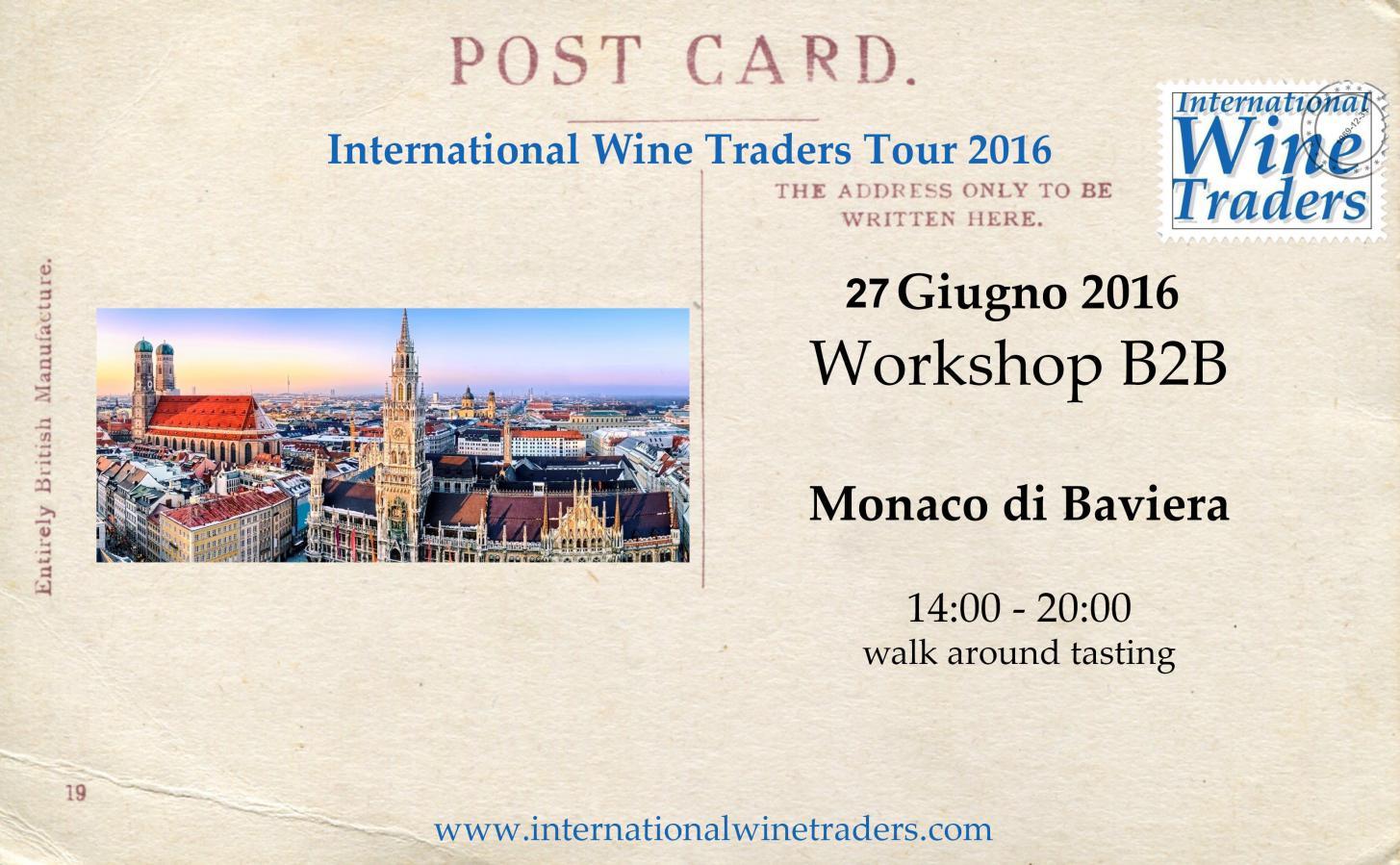 IWT Monaco Di Baviera | Wine Workshop Walk Around B2B 2016
