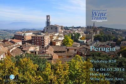International Wine traders, Perugia 3 e 4 Marzo 2014