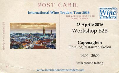 IWT wine workshop Copenaghen 2016