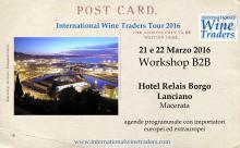 International Wine Traders Marche 2016