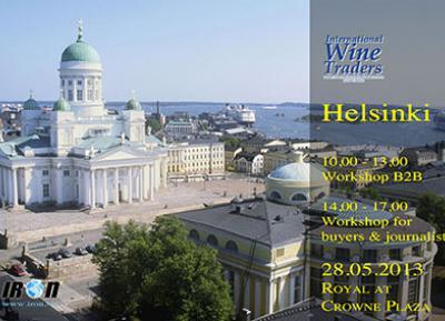International Wine Traders Helsinki 28 Maggio 2013