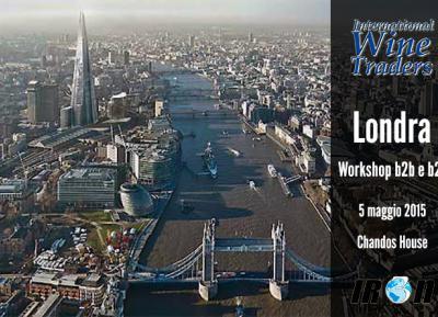 Workshop International Wine Traders Londra 2015