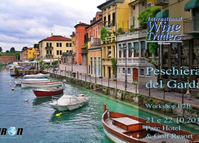 """""""International Wine Traders"""" B2B workshop with foreign buyers - Peschiera del Garda, October 21st and 22nd"""