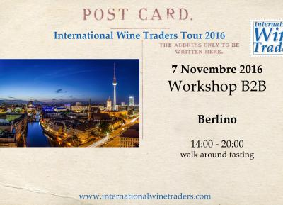 Wine Workshop IWT Berlino 7 Novembre 2016