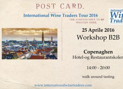 Wine workshop IWT Copenaghen 2016