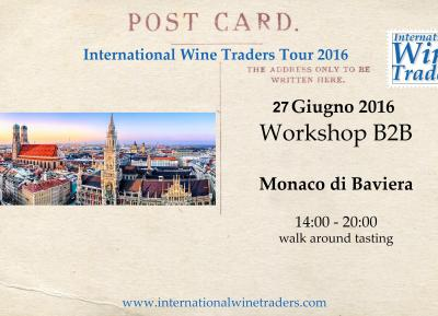 wine workshop IWT Monaco di Baviera 2016