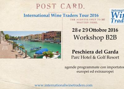 IWT Wine Workshop | Peschiera del Garda 28 e 29 Ottobre 2016