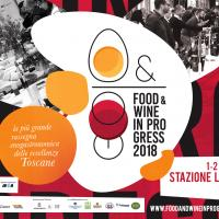 Food and Wine in progress 2018